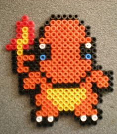 The World's Best Photos of pokemon and pyssla Pyssla Pokemon, Hama Beads Pokemon, Diy Perler Beads, Perler Bead Art, Perler Bead Templates, Pearler Bead Patterns, Perler Patterns, Art Perle, Hama Beads Design