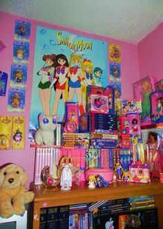 Old school sailor moon room