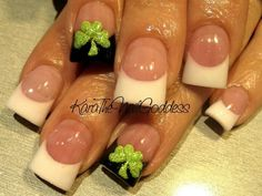 Weddbook is a content discovery engine mostly specialized on wedding concept. You can collect images, videos or articles you discovered organize them, add your own ideas to your collections and share with other people - See more about nails. Get Nails, Fancy Nails, Pretty Nails, Holiday Nails, Christmas Nails, Irish Nails, St Patricks Day Nails, Nagel Gel, Cute Nail Designs