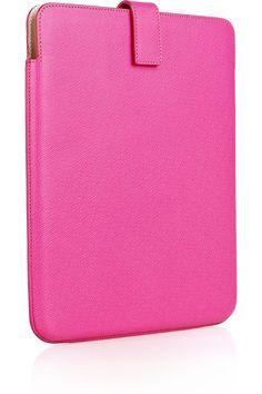 Smythson Leather iPad Case (205 Euro)