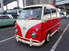 SUBARU SAMBAR AUTO VW SAMBA CAMPER REPLICA * MINI RETRO CAMPER *ONLY 56000 MILES