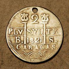 Moneda antigua de CARACAS