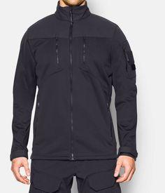 Men's UA Storm Tactical Gale Force Jacket, Dark Navy Blue , zoomed image