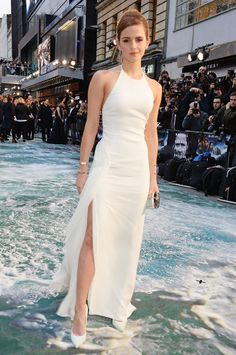 Emma Watson in Ralph Lauren at the Noah premiere in London