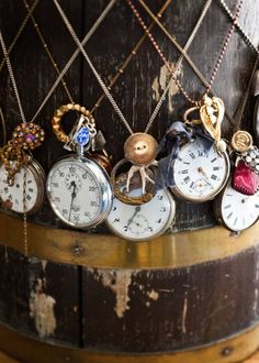 This is such a good idea. I'll keep an eye out for old watches at the antique shops.