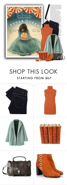 """""""The Sugar Queen"""" by ameve ❤ liked on Polyvore featuring Polo Ralph Lauren, Chicnova Fashion, Proenza Schouler, Chloé, book, books, bookworm, bookish and bookstyle"""