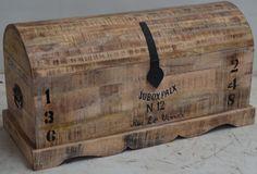 Mango Wood Urban Loft Industrial Furniture. Treasure Box