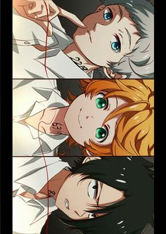 The promised Neverland Manga Anime, All Anime, Anime Art, Norman, Fan Art, Anime Kawaii, Neverland, Animes Wallpapers, Awesome Anime