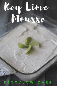 Key Lime Mousse keto low carb