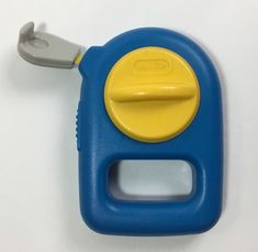 Little Tikes Child Size Measuring Tape Toy Construction Tool Blue/Yellow #LittleTikes