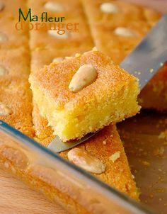 bassboussa - Blog cuisine marocaine / orientale Ma Fleur d'Oranger / Cuisine du monde /Recettes simples et cratives