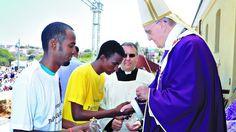 Pape François - Papa Francesco - Papa Francisco - Pope Francis - Avec les migrants de Lampedusa, 08/07/2013
