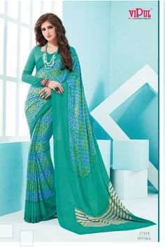 Crepey Colla #VipulFashions #Fashionforever #sarees #sari