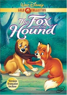 The Fox and the Hound (Walt Disney Gold Classic Collection) [VHS] Walt Disney, Disney Dvd, Disney Pixar, Disney Characters, Disney Magic, Good Comedy Movies, Kid Movies, Movie Tv, Children Movies