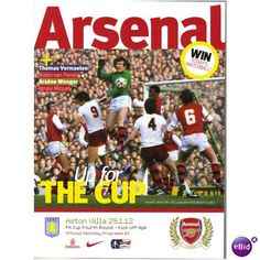 Arsenal v Aston Villa 2011/2012 FA Cup 4th Round Football Programme Listing in the 2000s,FA Cup Fixtures,English Leagues,Football (Soccer),Sports Programmes,Sport Memorabilia & Cards Category on eBid United Kingdom