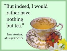 Tea Reading, Mansfield Park, Tea Cups, Tableware, Dinnerware, Dishes, Teacup, Tea Cup