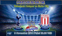 Prediksi Skor Tottenham vs Stoke City 15 Agustus 2015 Malam Ini, Lengkap Jadwal Jam Tayang Tottenham vs Stoke City pada ajang Pertandingan Liga Inggris yang akan mengadu dua kekuatan antara Tottenham Hotspur vs Stoke City
