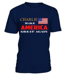 """# CHARLIE MAKE AMERICA GREAT AGAIN .  MORE PRODUCTS FOR YOUR CHOICEShttps://www.teezily.com/stores/charlie-nameSpecial Offer, not available anywhere else!Available in a variety of styles and colorsBuy yours now before it is too late!Secured payment via Visa / Mastercard / Amex / PayPalHow to place an order Choose the model from the drop-down menu Click on """"Buy it now"""" Choose the size and the quantity Add your delivery address and bank details And that's it!"""