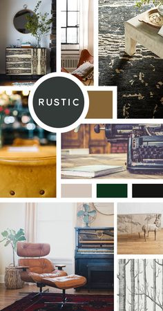 Your Ultimate Guide to Interior Design Styles: Rustic- Nothing too stuffy for you because you're all about a bit of ruggedness, comfort, and worn materials. You can go full-on cabin style or tone it down for a lighter feel.