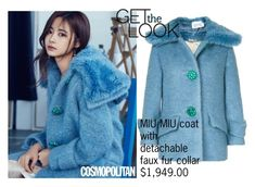 """""""GET THE LOOK // TWICE TZUYU"""" by tropichild ❤ liked on Polyvore featuring Miu Miu and Tzuyu"""