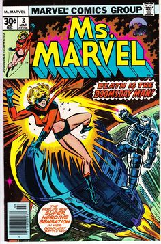 Ms. Marvel #3 (1st Series 1977) March 1977   Marvel Comics   Grade NM