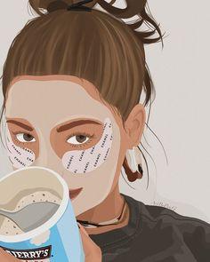 ᴾᵃᵘ (@artbypaug) • Instagram • 𝐵𝑟𝑒𝑎𝑘 𝑇𝑖𝑚𝑒 • Holaa a todos!! La verdad estoy un poco desaparecida porque estoy a full con la facu y siendo ya casi fin de cuatrimestre estoy 100% concentrada en ello💪🏻 Una vez que termine el cuatri van a ver más contenido devuelta.... . . . . #art #design #procreate #procreateart #portrait #minimalist #graphicdesign #artwork #digitalillustration #digitalportrait #creativeartists Digital Collage, Digital Art, Digital Illustration, Abstract, Anime, Painting, Instagram, Summary, Painting Art
