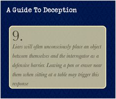 A Guide To Deception