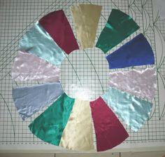 Circle skirt using scraps... Creating My Way to Success