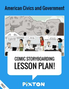 Your students will love writing about UNITED STATES HISTORY with Pixton comics and storyboards! This FREE lesson plan features a Teacher Guide and themed props. PLUS 2 awesome activities with interactive rubrics and student examples.
