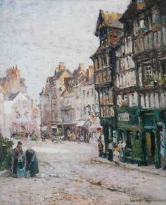 Colin Campbell Cooper | ... Art Blog: Exhibition - Lasting Impressions: Colin Campbell Cooper