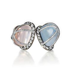 JAR | earrings | JAR moonstone earrings, with quartz and diamonds, JAR Paris: Estimated worth: €31,000-46,000.