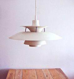 Danish designer Poul Henningsen PH 5 pendant 1958 by OldAndCold Interior Lighting, Home Lighting, Modern Lighting, Lighting Design, Classic Lighting, Plywood Furniture, Danish Furniture, Furniture Design, Danish Interior