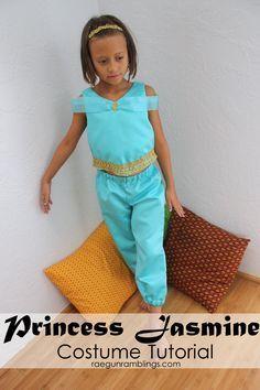 How to Make a Princess Jasmine Costume - Rae Gun Ramblings