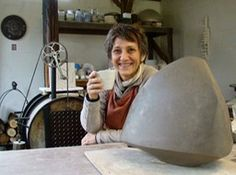 Dans l'atelier de Brigitte Marionneau.   gilblog   Jean-Pierre Gilbert