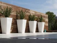Contemporary Outdoor Planters And Pots 25 Great Ideas For Modern Outdoor Design Garden Furniture Design, Modern Garden Design, Furniture Ideas, Modern Design, Modern Landscape Design, Furniture Layout, Furniture Stores, Contemporary Outdoor Furniture, Modern Outdoor Decor