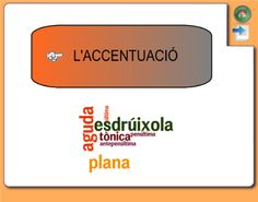 L'accentuació Valencia, Abs, Language, Classroom, Activities, School, Languages, Learning, Literatura