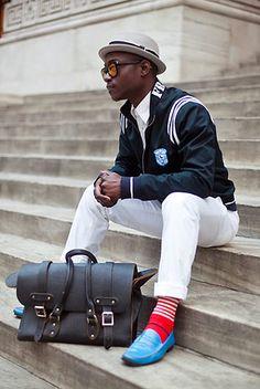 men style..marvelous color combo   PattyOnSite Dapper Lou : Ludget Delcy : Street style