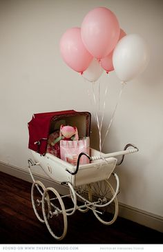 girl pink baby shower 014 Baby Shower for Boys & Girls {Inspiration}