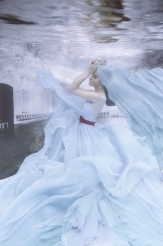 Haunted Magazine Editorial: The Girl Within The Water by Jvdas Berra, via Behance