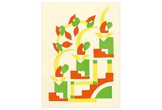 Serge Gladky, Fleurs, Pl. 2 on OneKingsLane.com