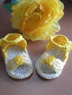 Vestidos - Conjunto: vestido de crochet. Sandalias de crochet - hecho a mano por Olga724 en DaWanda