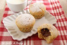 muffin cuor di nutella