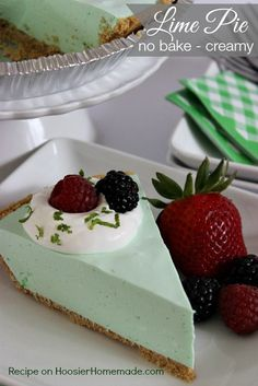 Lime Pie: No Bake, C