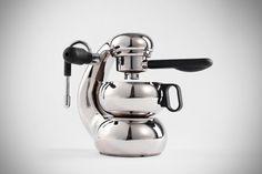 OTTO Stovetop Espresso Maker (Latest revision of the Atomic Coffee maker originally designed by Giordano Robbiati)