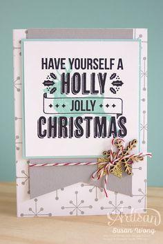 Jolly Christmas Card ~ Susan Wong