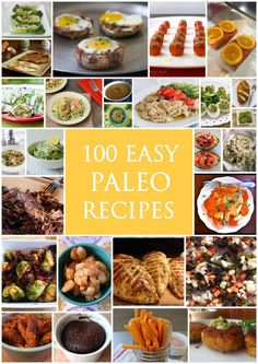 Paleo - 100 Easy Paleo Recipes www. - It's The Best Selling Book For Getting Started With Paleo Zone Recipes, Best Paleo Recipes, Primal Recipes, Clean Recipes, Real Food Recipes, Diet Recipes, Cooking Recipes, Paleo Meals, Paleo Food