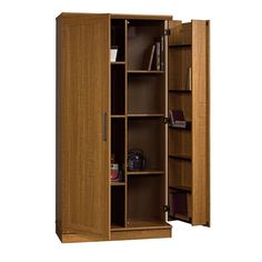Sauder Home Plus Storage Cabinet Swing Out Door Brown : Sears Outlet -- 2 hrs from our house in Michigan