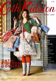 Cath Kidston vintage style which link to company use vintage element to create advertisement. Cath Kidston Vintage, Cath Kidston Home, Cath Kidston Bags, Cath Kidston Clothes, Modern Vintage Fashion, Vintage Style, Granny Chic, Estilo Fashion, Thrift Fashion