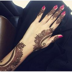 Henna love cute simple