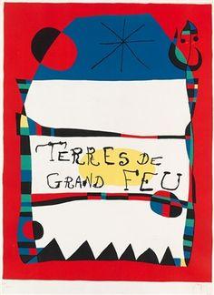 Terres de grand feu by Joan Miró